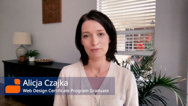 Finding the skills and the confidence in a new country: Alicja Czajka